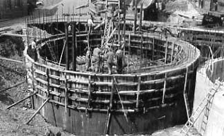 Well Electric Pump Station Construction-1925